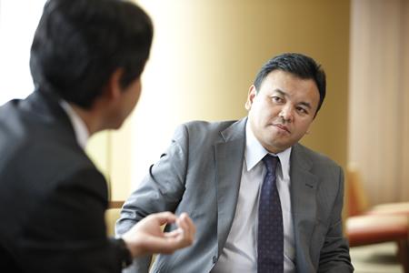 第2回対談 セールスフォース代表取締役社長 宇陀栄次氏(5/7)